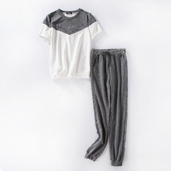 Short Sleeves 2-piece Tracksuit