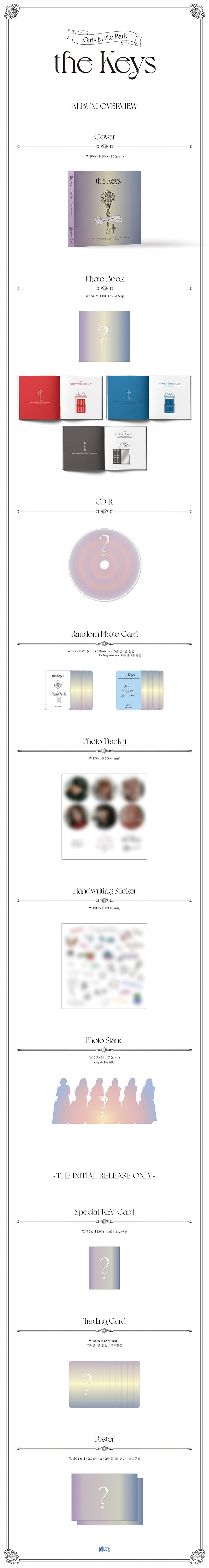 GWSN 4th mini album [the Keys]
