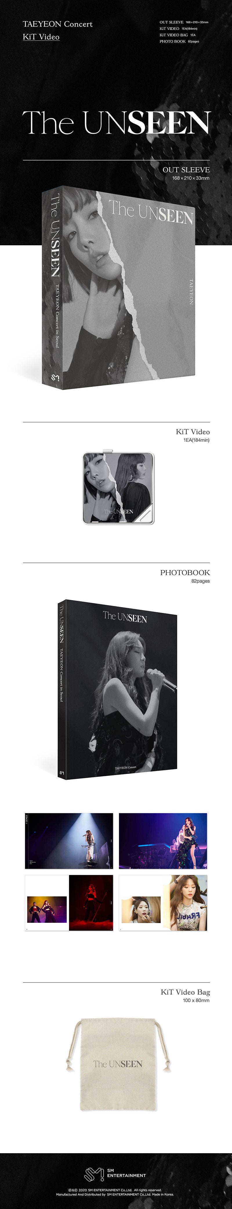 TAEYEON - Concert [The UNSEEN] Kihno Kit Video