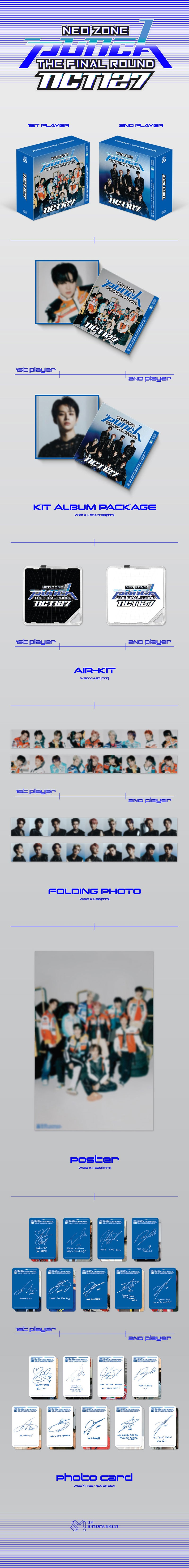 NCT 127 - 2nd Album Repackage [NCT #127 Neo Zone: The Final Round] KIT Album