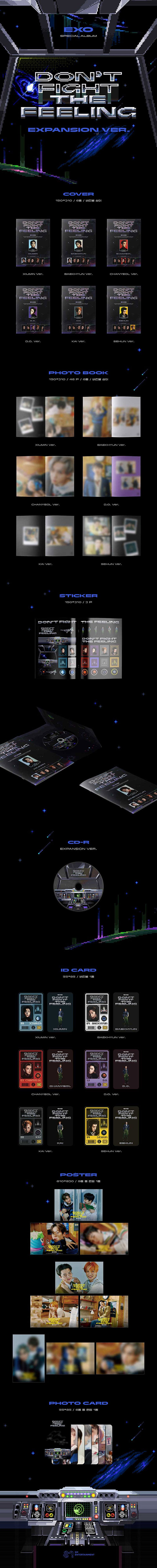EXO - Special Album [Don't Fight The Feeling] Expansion Ver.
