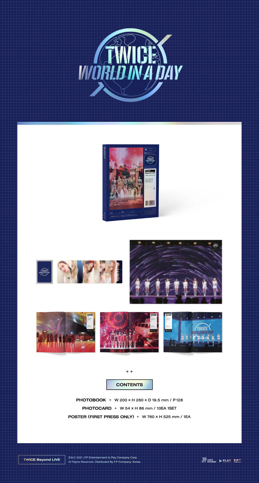 TWICE - Beyond Live [TWICE: World in a Day] Photobook