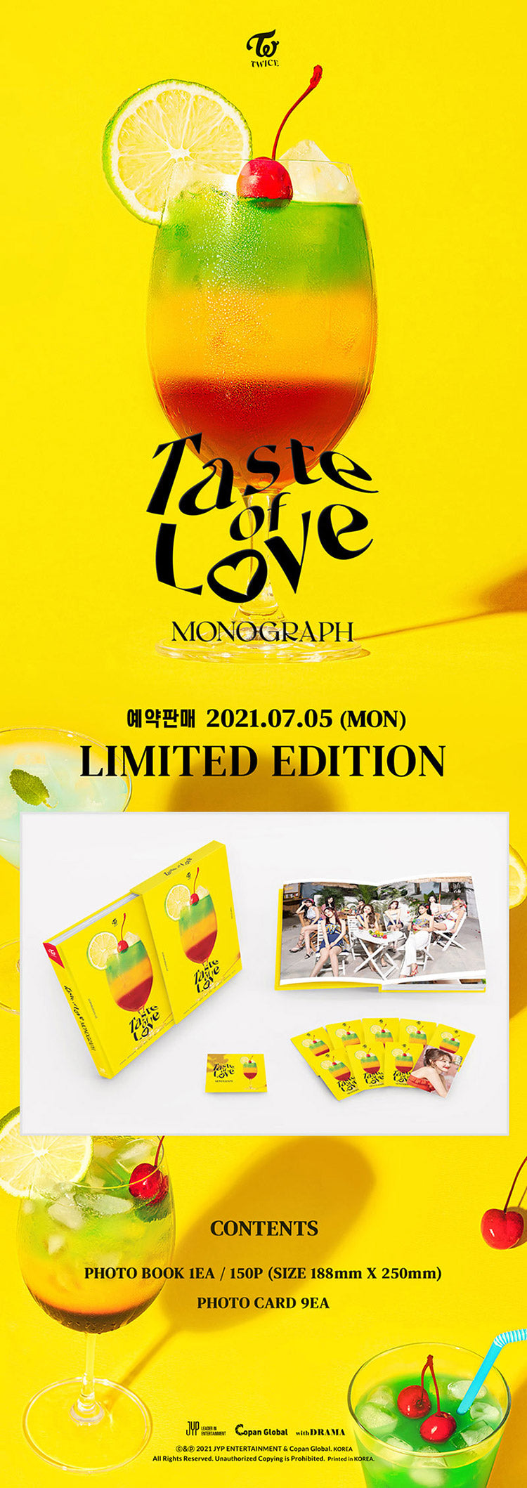 TWICE - MONOGRAPH [Taste of Love] Limited Edition
