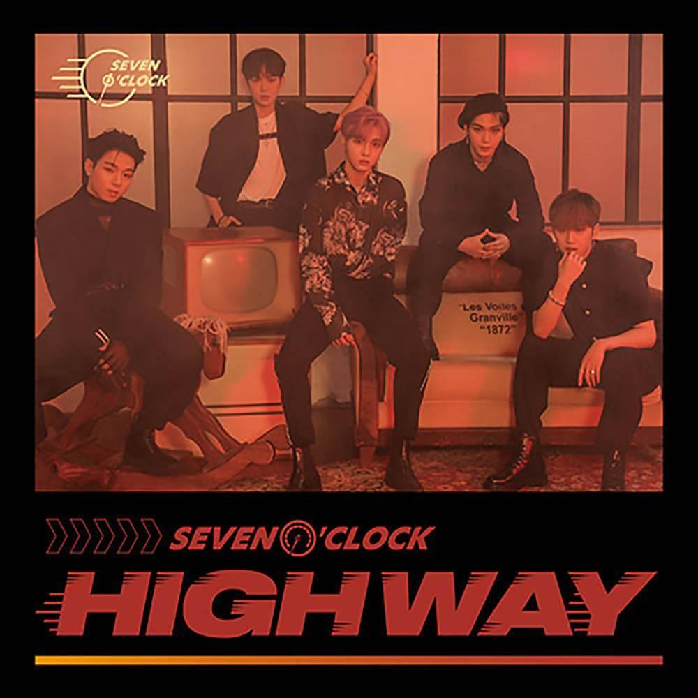 7 O'CLOCK - 5th Project Album [HIGHWAY] CD KAKAO M