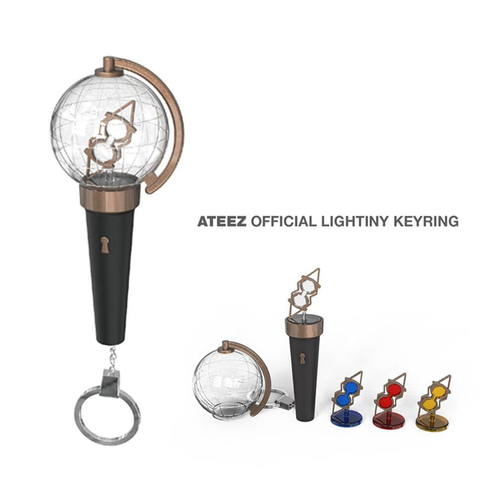 Ateez - Official Lightiny Keyring Light Stick KQ Entertainment