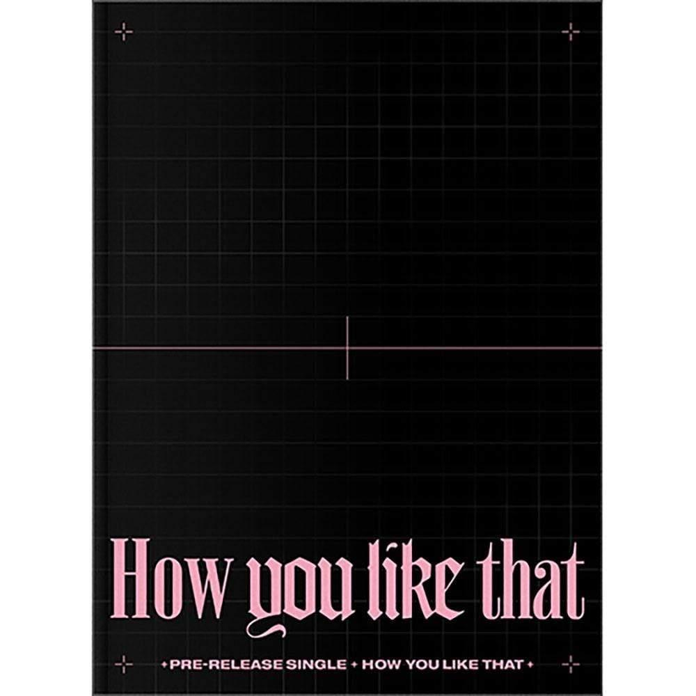 Blackpink - Special Edition [How you like that] CD YG Entertainment