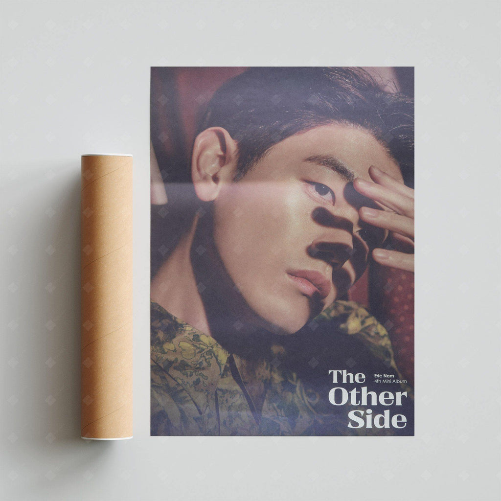 Eric Nam - 4th Mini Album [The Other Side] Official Poster Poster Stone Music Entertainment