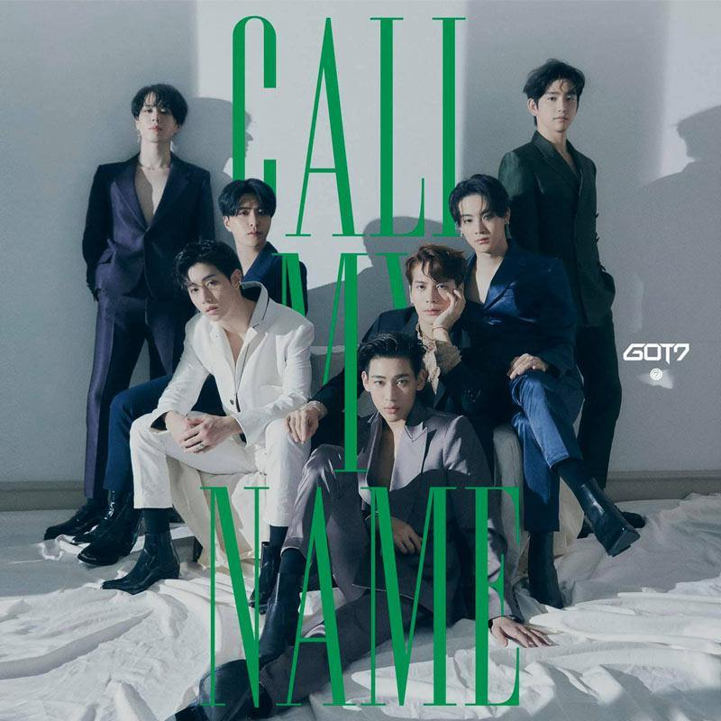 GOT7 - 10th Mini Album [Call My Name] CD JYP Entertainment