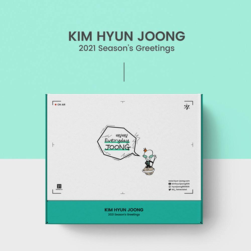 KIM HYUN JOONG - 2021 SEASONS GREETINGS [Everyday Joong] Season's Greetings Music&NEW