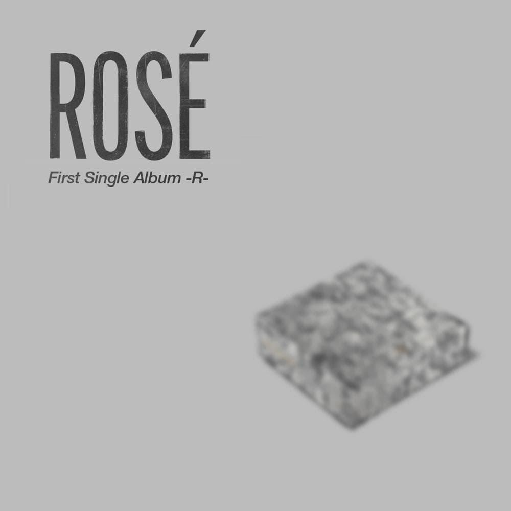 Rosé - First Single Album [-R-] Kit Album CD YG Entertainment