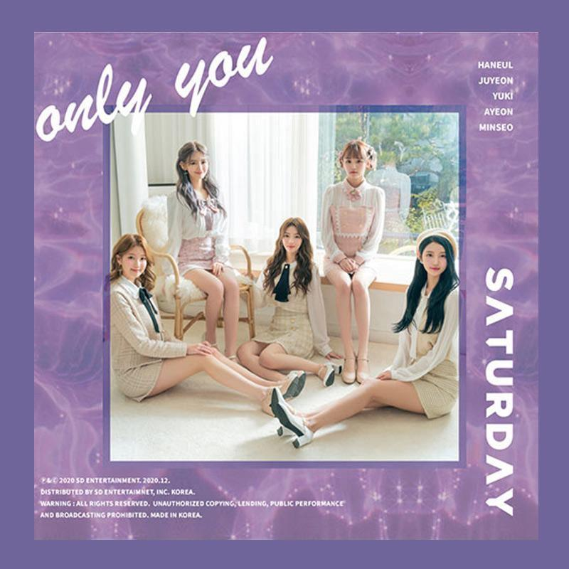 SATURDAY - 5th Single Album [Only You] CD SD Entertainment