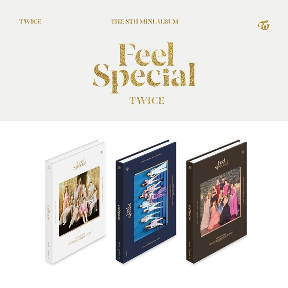 TWICE - 8th Mini Album [Feel Special] CD JYP Entertainment