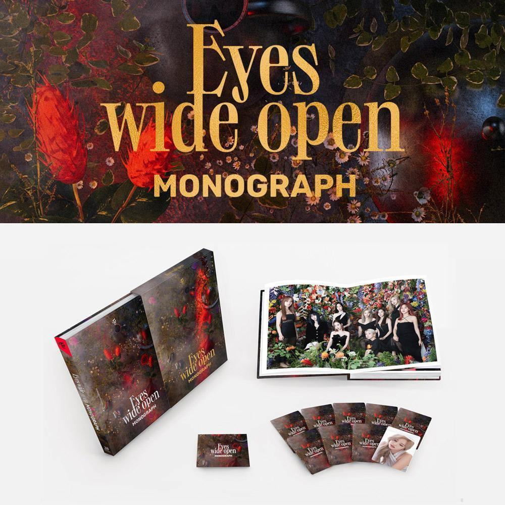 TWICE - MONOGRAPH [Eyes wide open] Limited Edition Photo Book JYP Entertainment