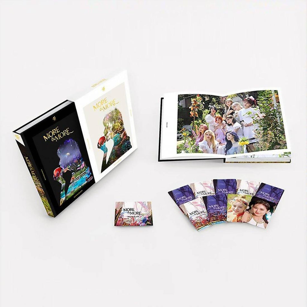 TWICE - MONOGRAPH [MORE & MORE] Photo Book JYP Entertainment