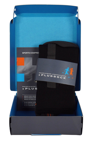 Plussock Sports Compression High - Herre