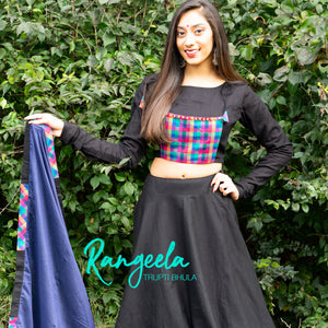 Rangeela Plaid Set