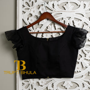 Black Sahana Blouse