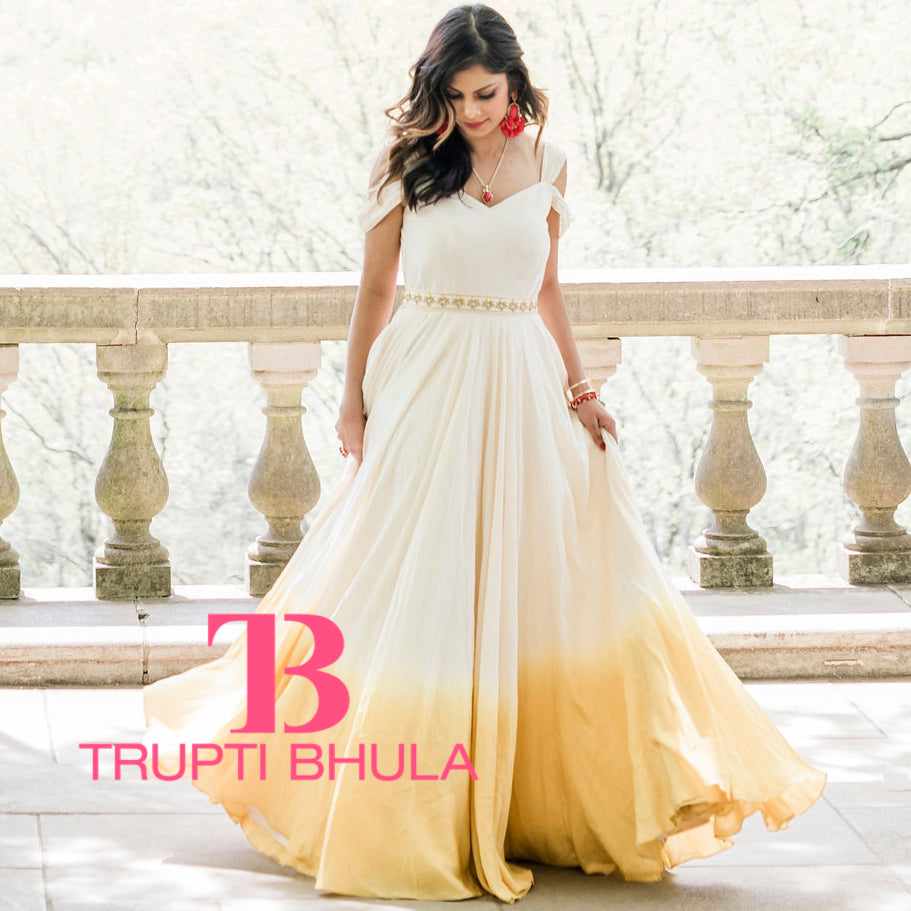 Rupali Dipped Gown