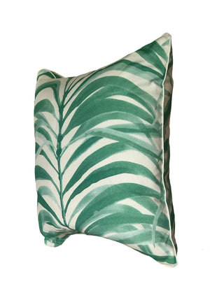 Mint Fronds Pillow