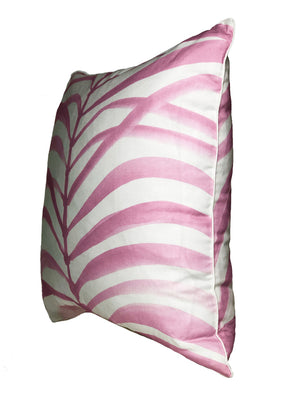 Pink Fronds Pillow