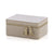 Georgie Rectangular Jewelry Box - Natural