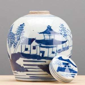 Kame Jar with Lid