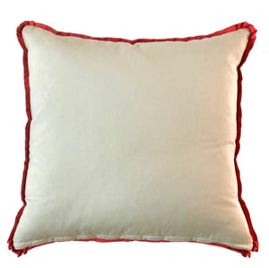 Exotic Sky Blue Pillow