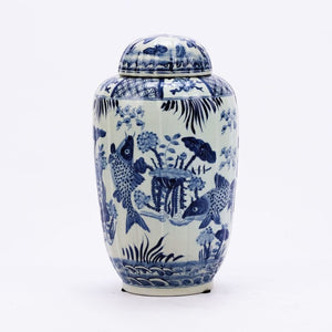 Yu Fluted Tea Jar