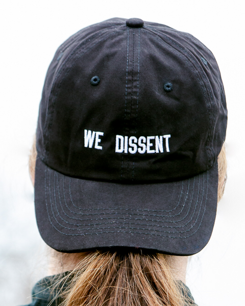 We Dissent Baseball Hat