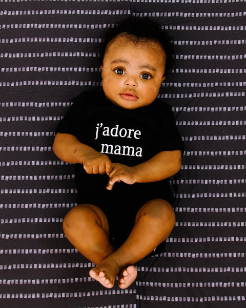 Apparel & Accessories > Clothing > Baby & Toddler Clothing > Baby One Pieces - J'adore Mama Bodysuit
