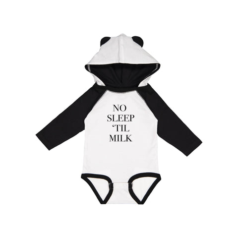 Apparel & Accessories > Clothing > Baby & Toddler Clothing > Baby One Pieces - No Sleep 'Til Milk Bodysuit ?id=18433081770138