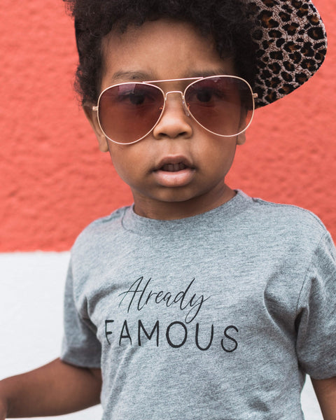 Apparel & Accessories > Clothing > Baby & Toddler Clothing > Baby & Toddler Tops - Already Famous
