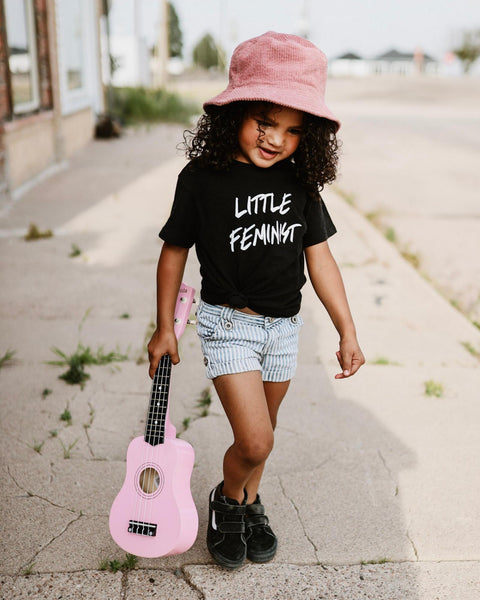 Apparel & Accessories > Clothing > Baby & Toddler Clothing > Baby & Toddler Tops - Little Feminist