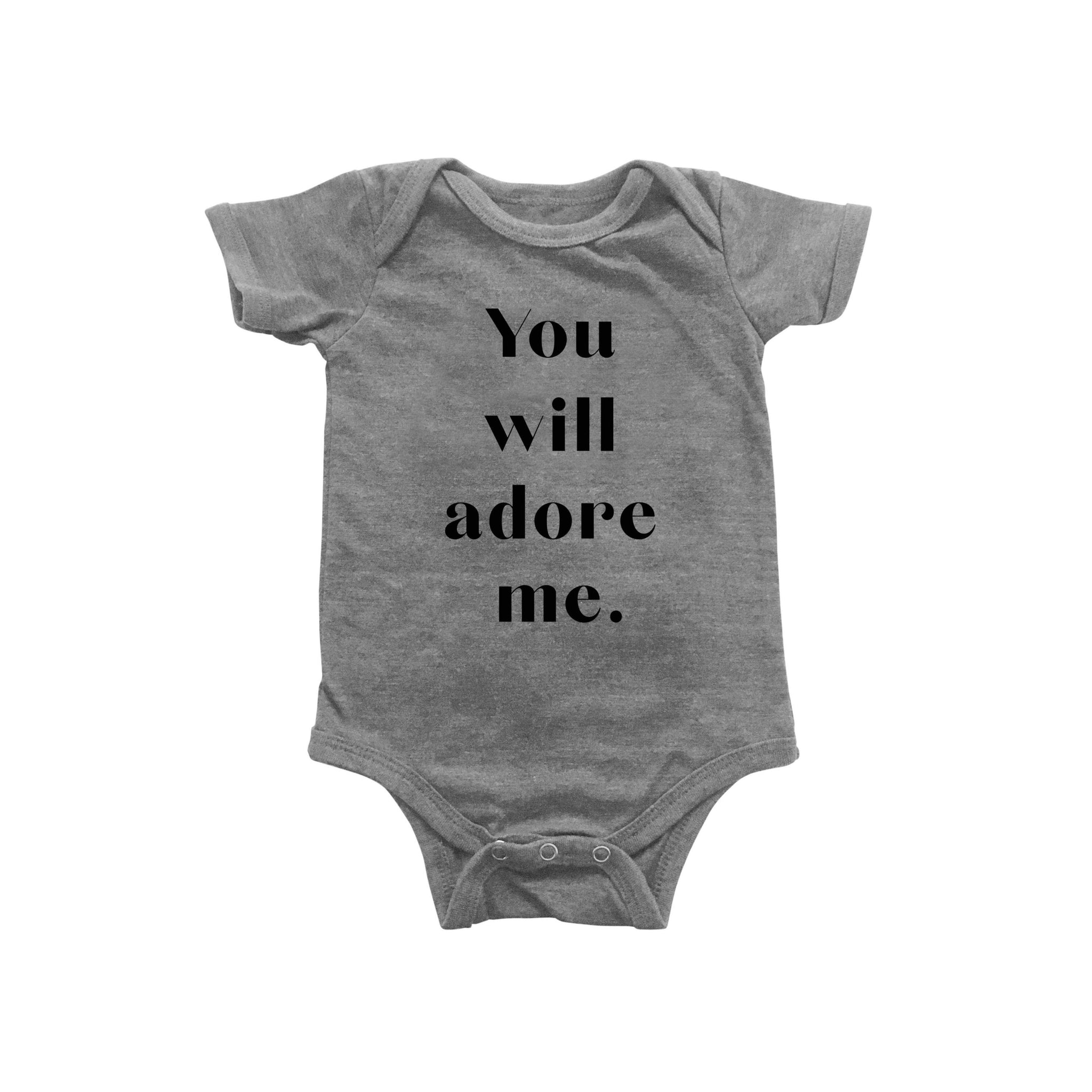 You Will Adore Me Bodysuit
