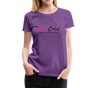 Reader Central tshirt - purple