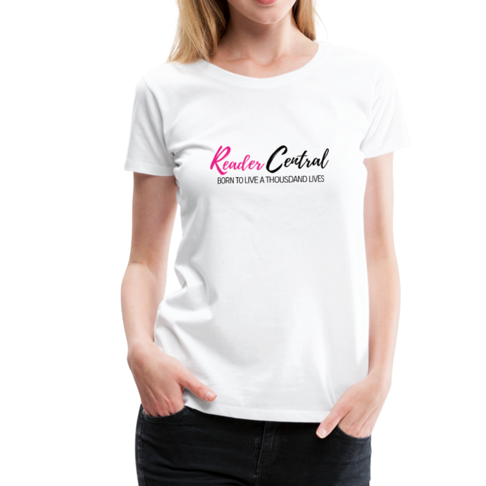 Reader Central tshirt - white