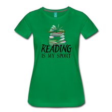 Load image into Gallery viewer, READING IS MY SPORT PREMIUM SHIRT - kelly green