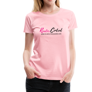 Reader Central tshirt - pink