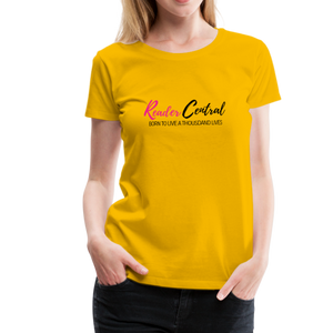 Reader Central tshirt - sun yellow