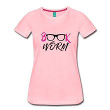 Load image into Gallery viewer, BOOK WORM Premium Light Color Tshirts - pink