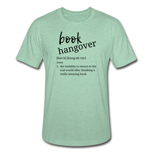 Load image into Gallery viewer, Book Hangover - Unisex Heather Prism T-Shirt - heather prism mint