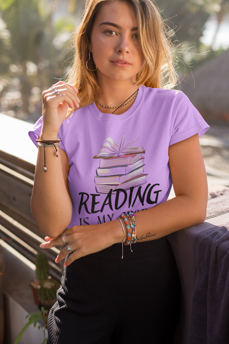 READING IS MY SPORT PREMIUM SHIRT