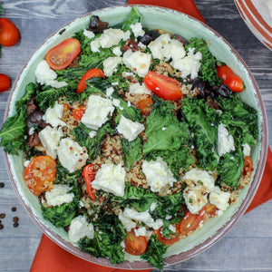 Kale Chip Quinoa Bowl