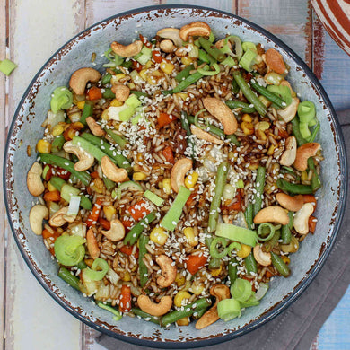 Toasted Brown Rice Bowl