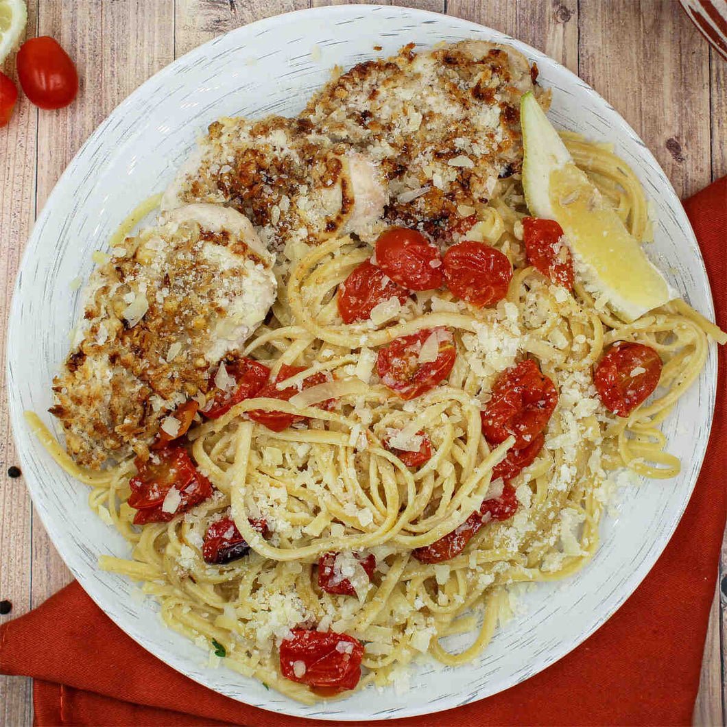Parmesan-Crusted Chicken