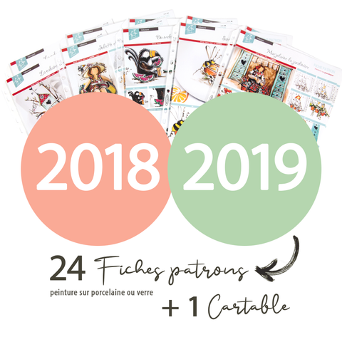 24 fiches patrons | 2018 & 2019