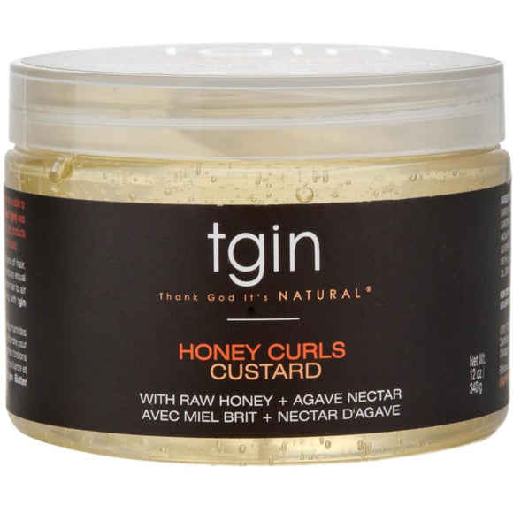 Tgin Honey Curls Custard 12Oz