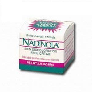 Nadinola Skin Discoloration Fade Cream – Extra Strength Formula - 2.25 Oz