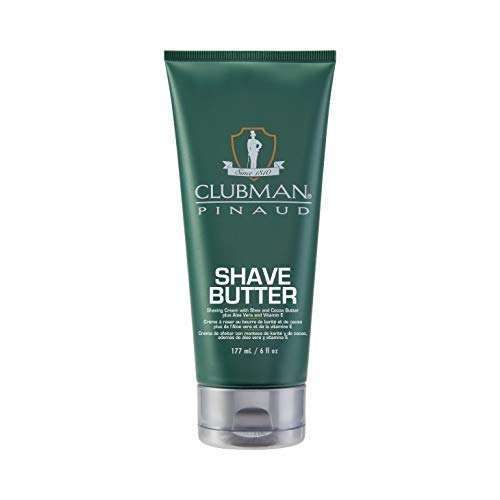 Clubman Pinaud Shave Butter, 6 Oz