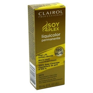 Clairol Professional Liquicolor Permanent 12G/Hl-G High Lift Golden Blonde 2 Ounce